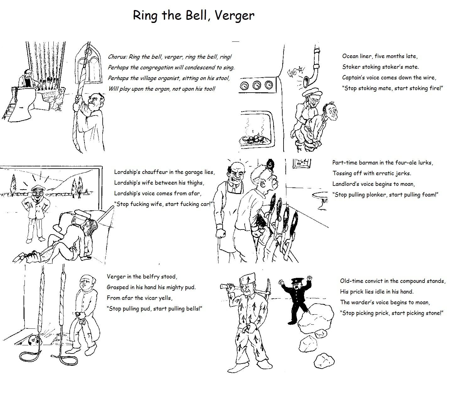 Ring the Bell, Verger